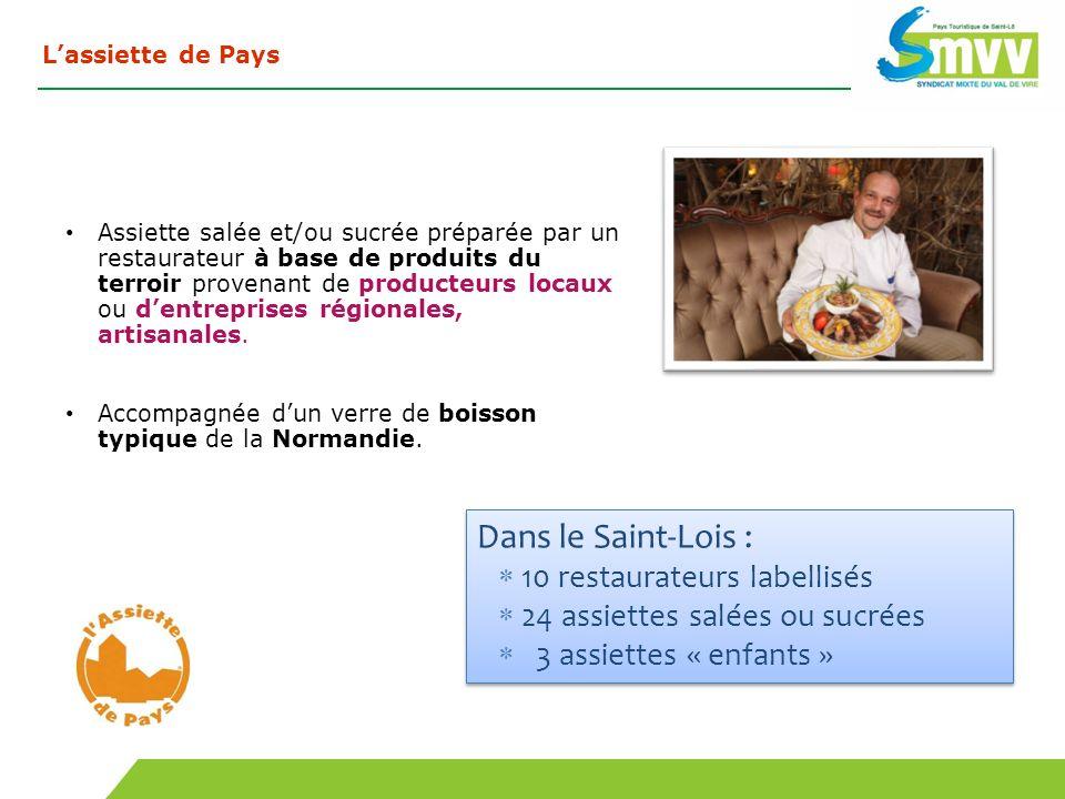 Dans le Saint-Lois : 10 restaurateurs labellisés