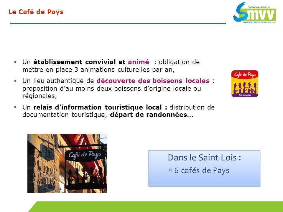 Dans le Saint-Lois : 6 cafés de Pays Le Café de Pays