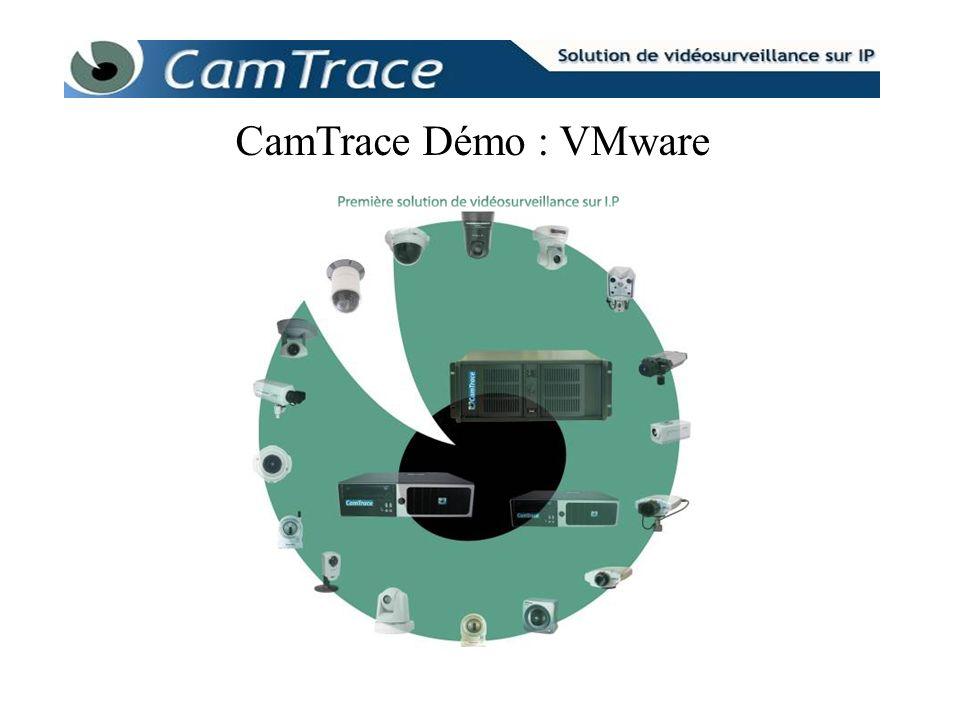 CamTrace Démo : VMware