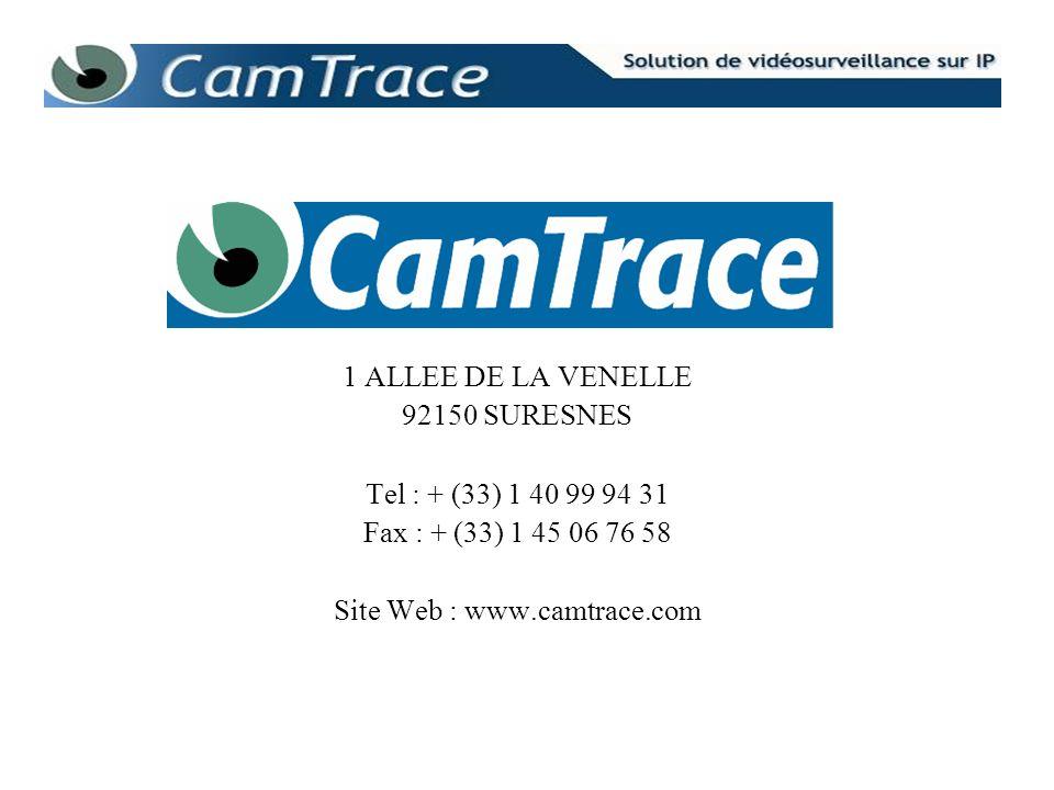 1 ALLEE DE LA VENELLE92150 SURESNES.Tel : + (33) 1 40 99 94 31.