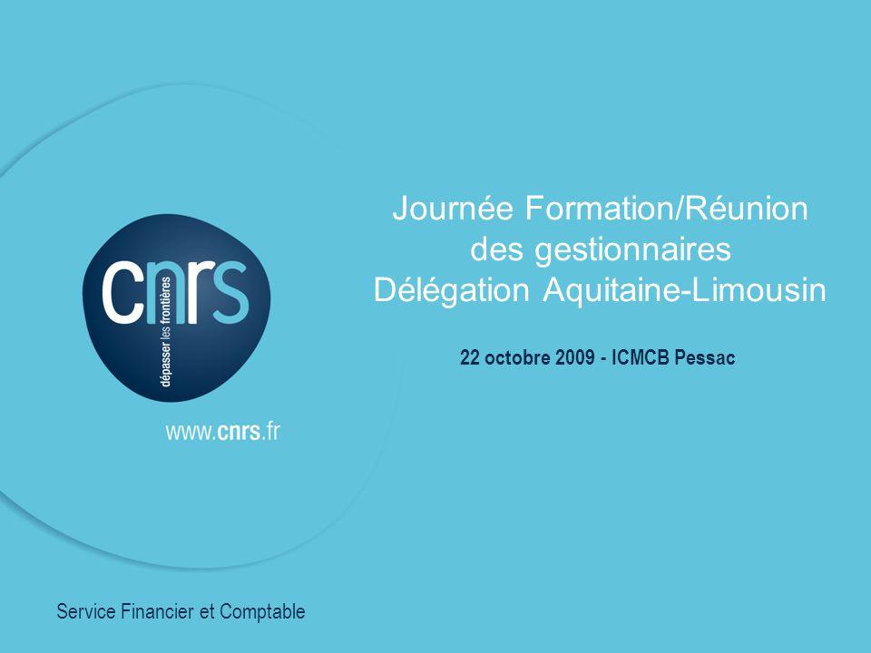Journée Formation/Réunion des gestionnaires
