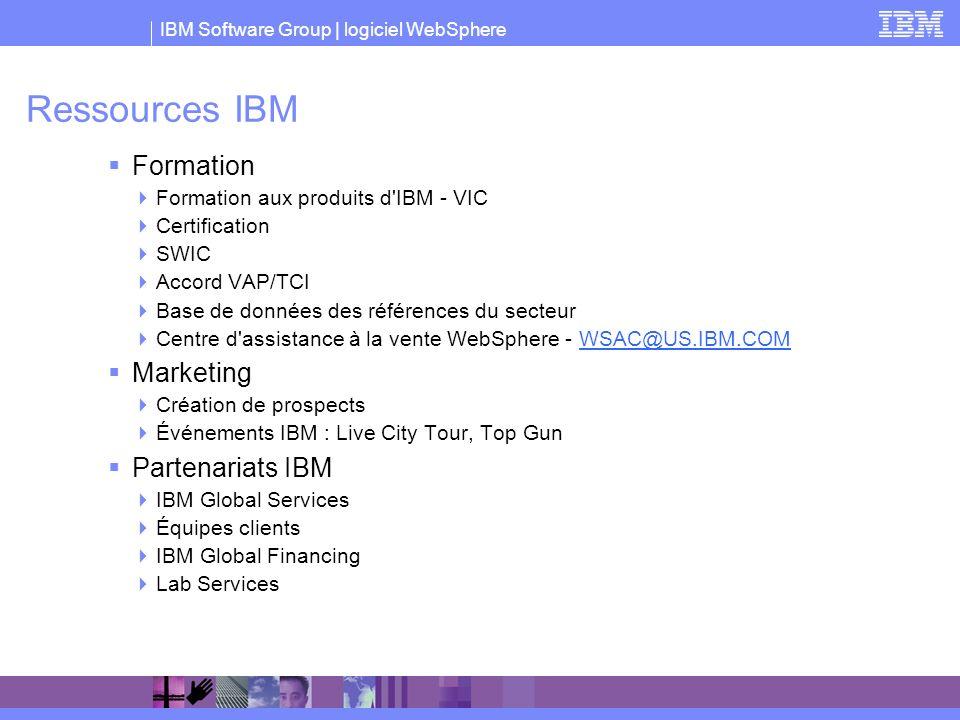 Ressources IBM Formation Marketing Partenariats IBM