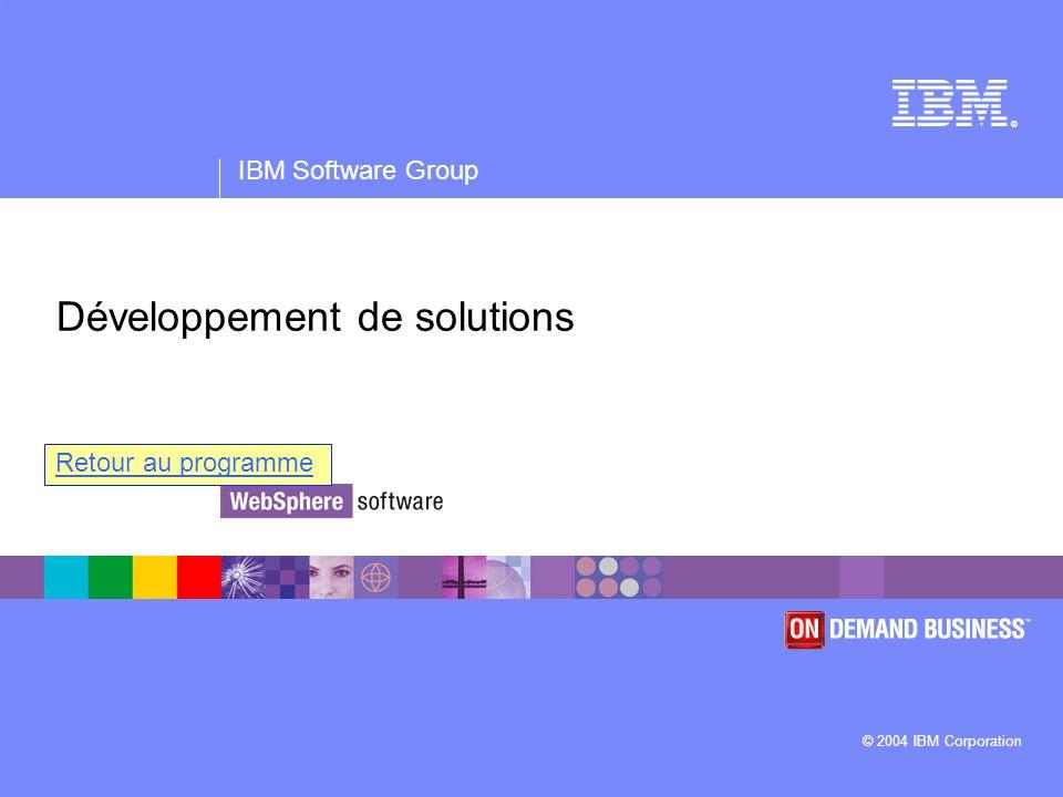 Développement de solutions