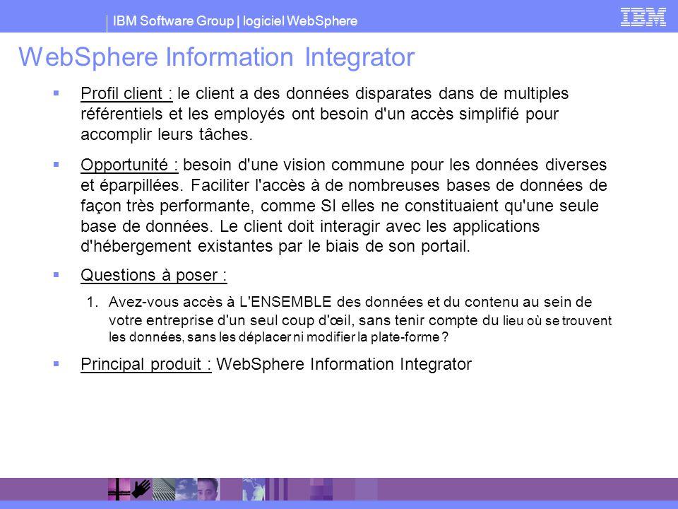 WebSphere Information Integrator