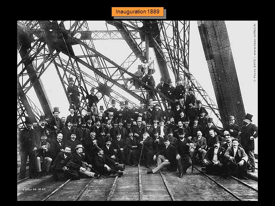 Inauguration 1889