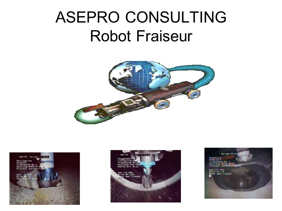 ASEPRO CONSULTING Robot Fraiseur