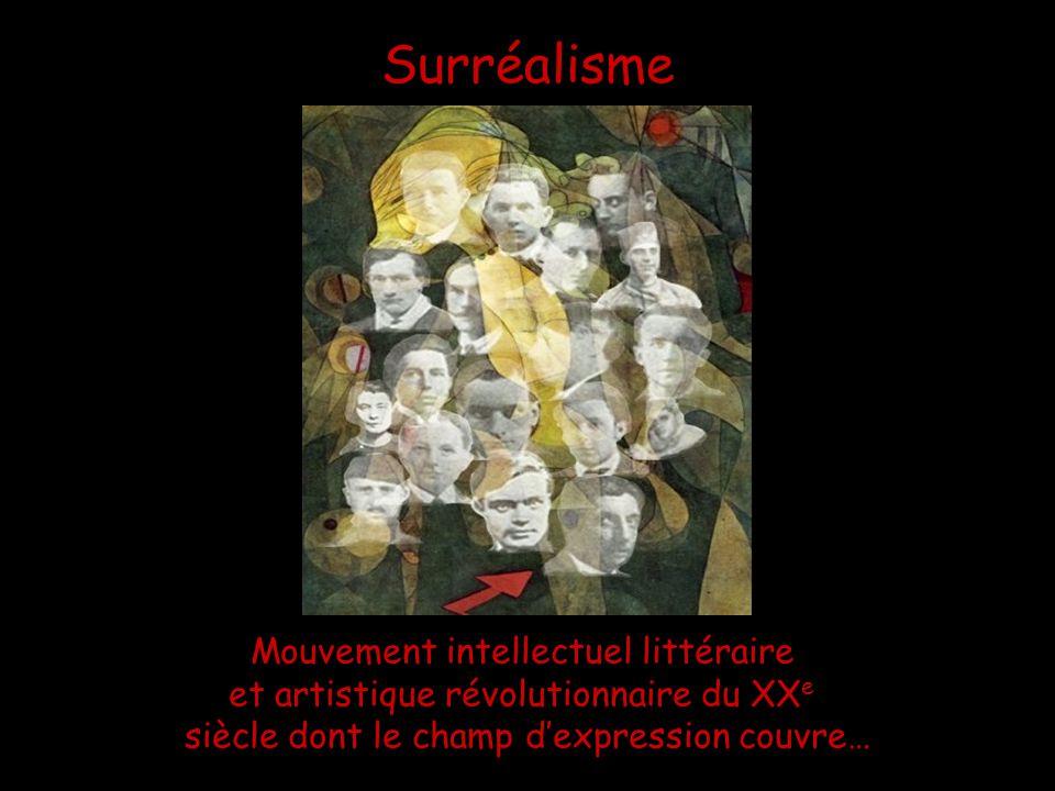 Surréalisme Mouvement intellectuel littéraire