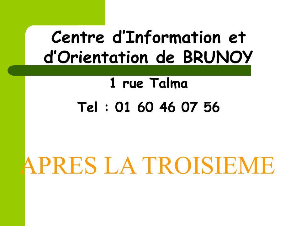 Centre d'Information et d'Orientation de BRUNOY