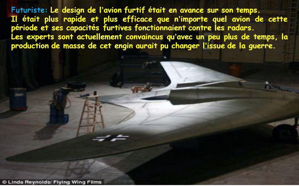 Futuriste: Le design de l'avion furtif était en avance sur son temps.
