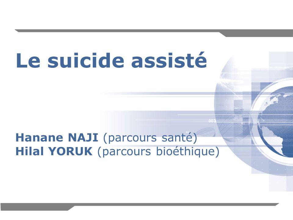 Le suicide assisté Hanane NAJI (parcours santé)