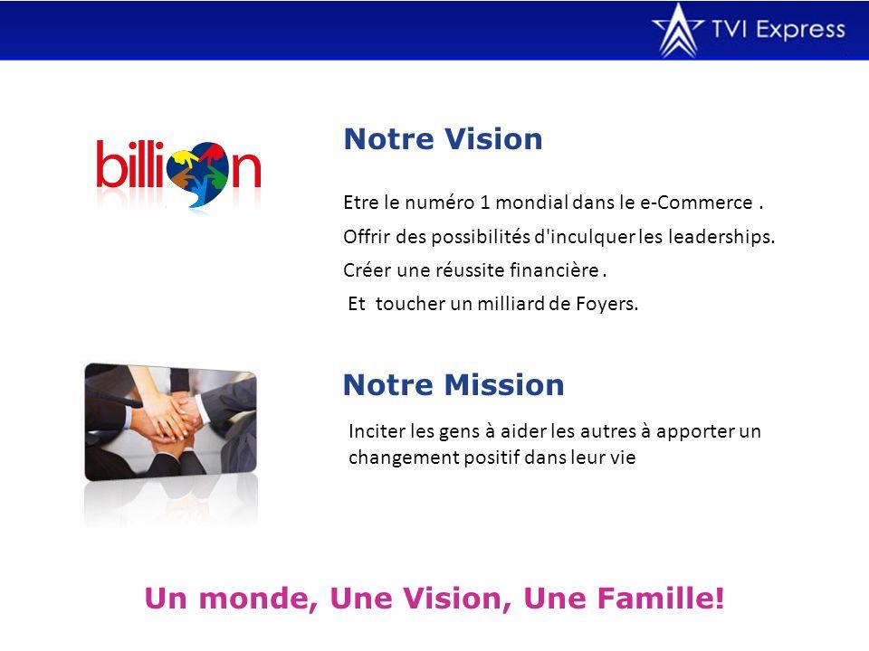 Un monde, Une Vision, Une Famille!