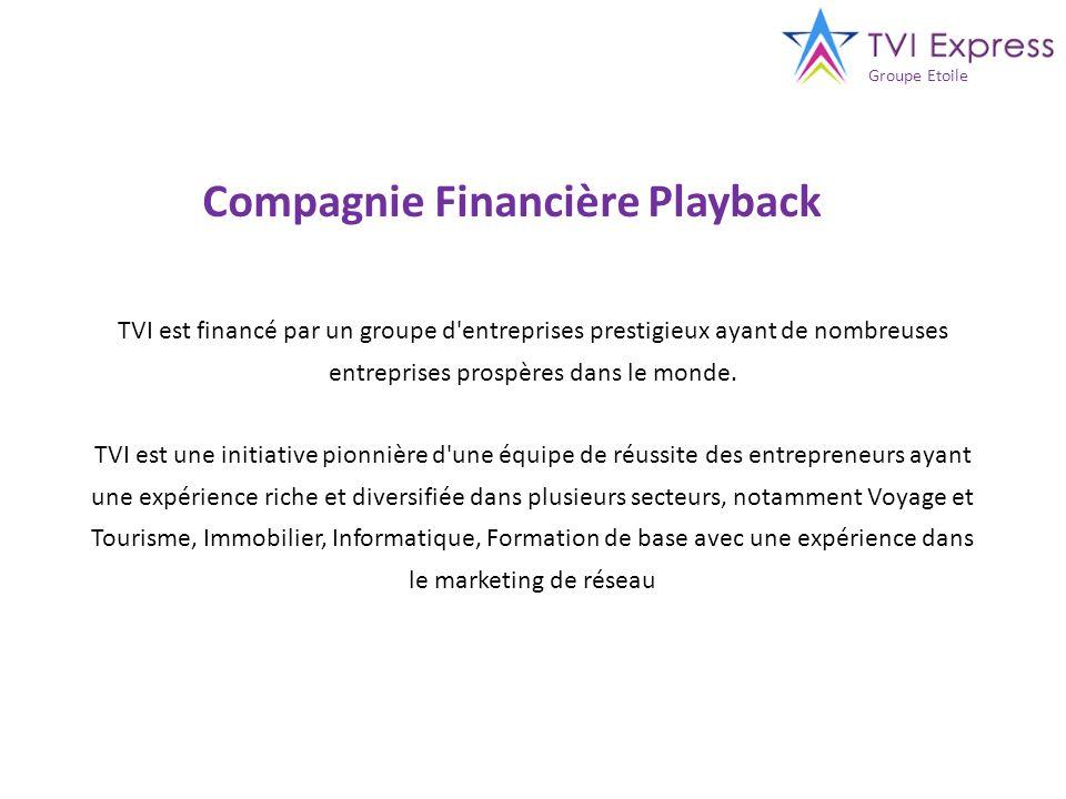 Compagnie Financière Playback
