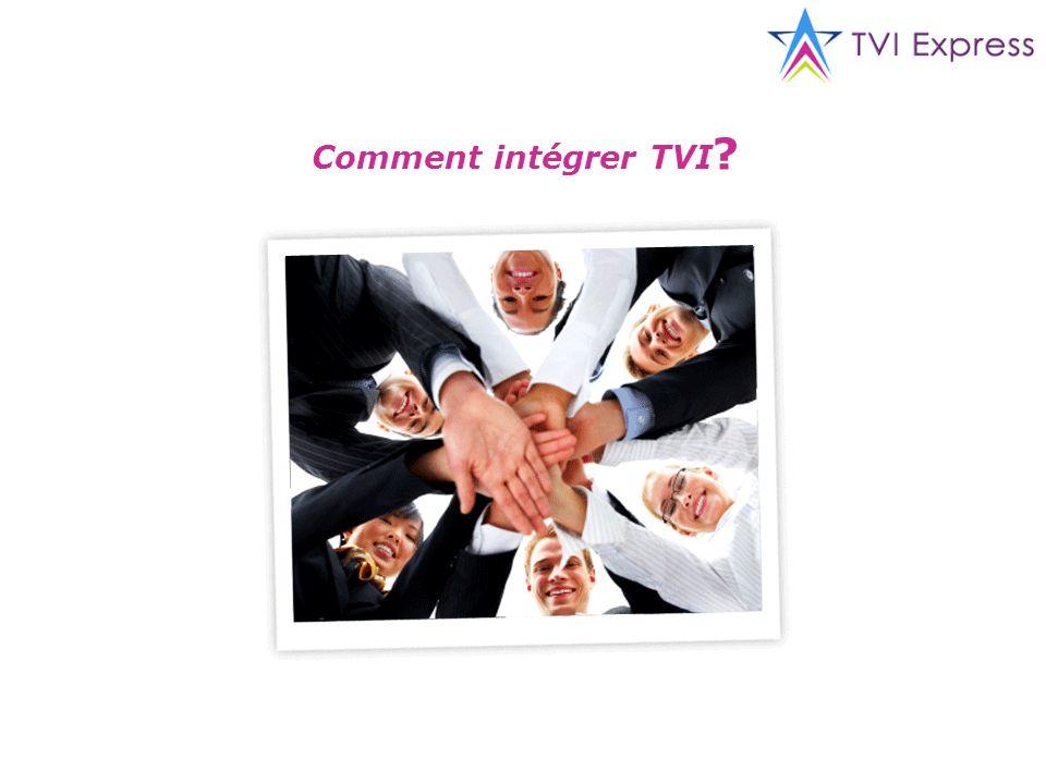 Comment intégrer TVI