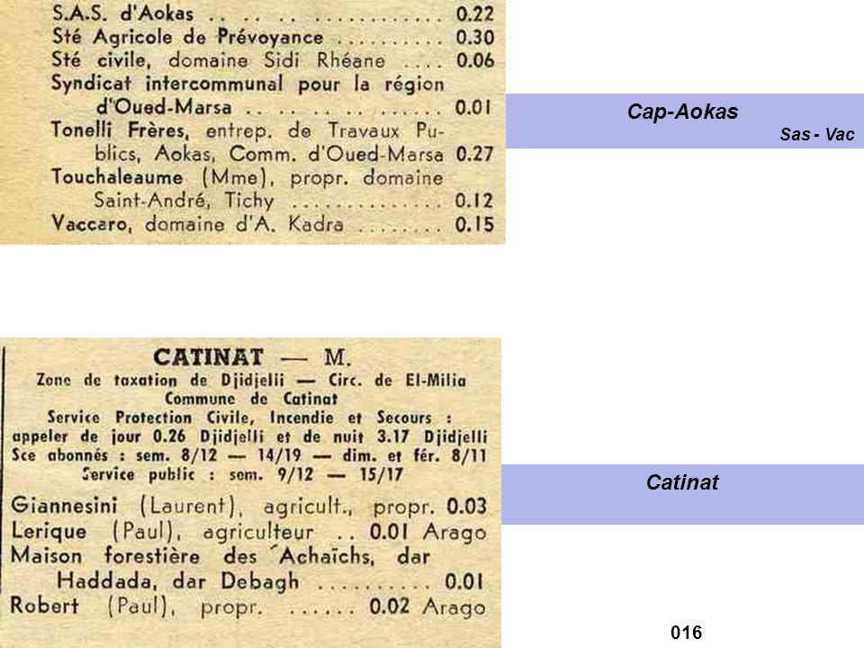 Cap-Aokas Sas - Vac Catinat 016