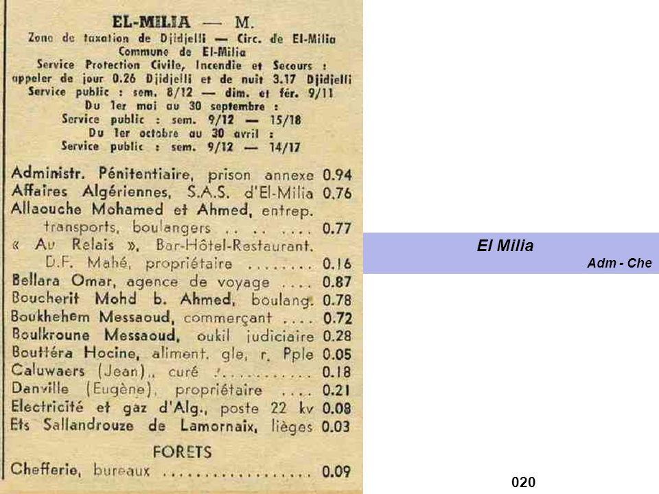 El Milia Adm - Che 020