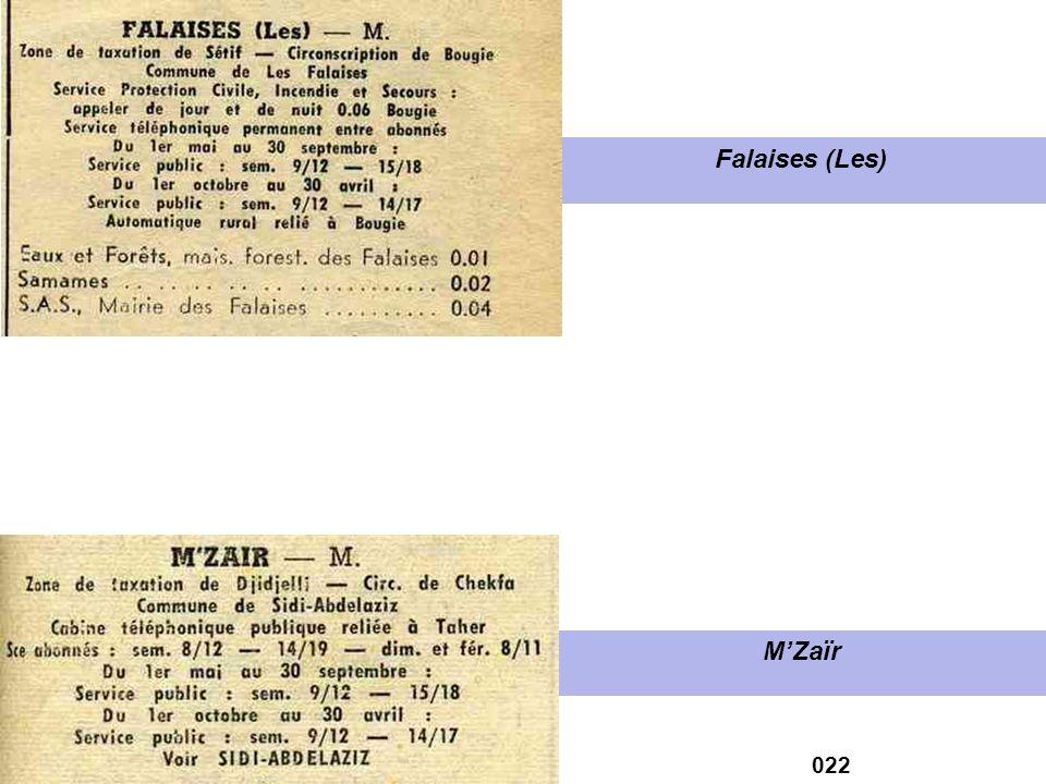 Falaises (Les) M'Zaïr 022
