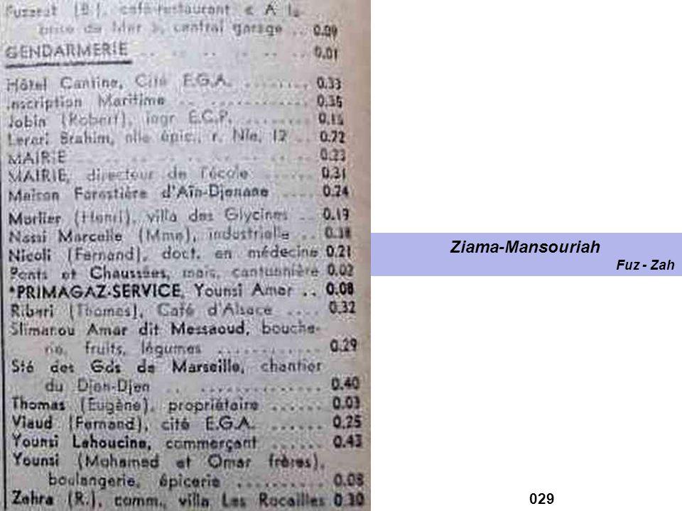 Ziama-Mansouriah Fuz - Zah 029
