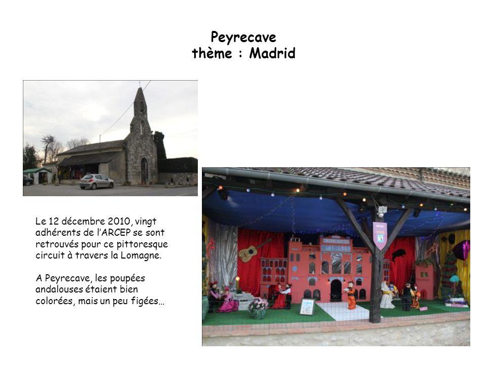 Peyrecave thème : Madrid