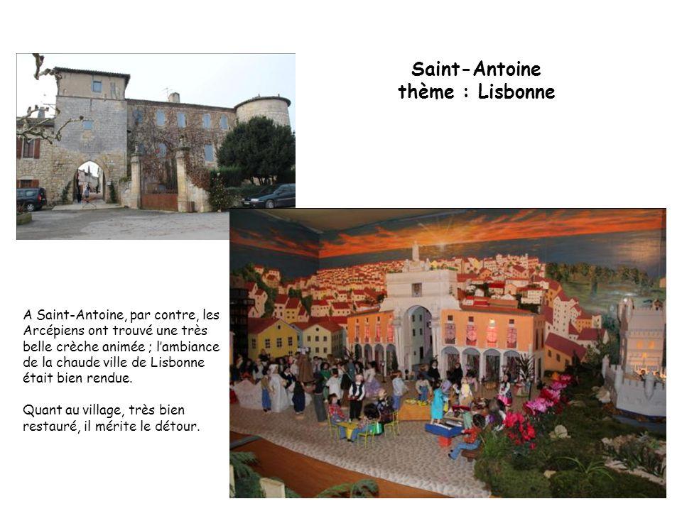 Saint-Antoine thème : Lisbonne