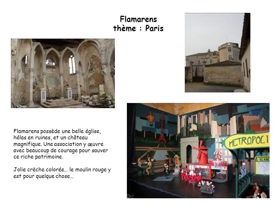 Flamarens thème : Paris