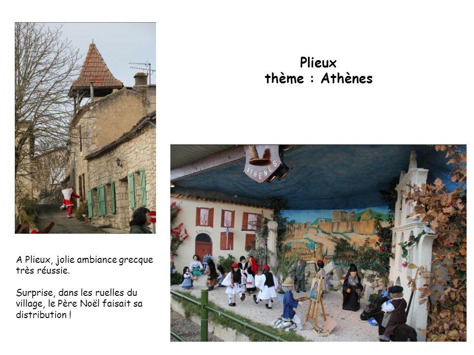 Plieux thème : Athènes A Plieux, jolie ambiance grecque très réussie.