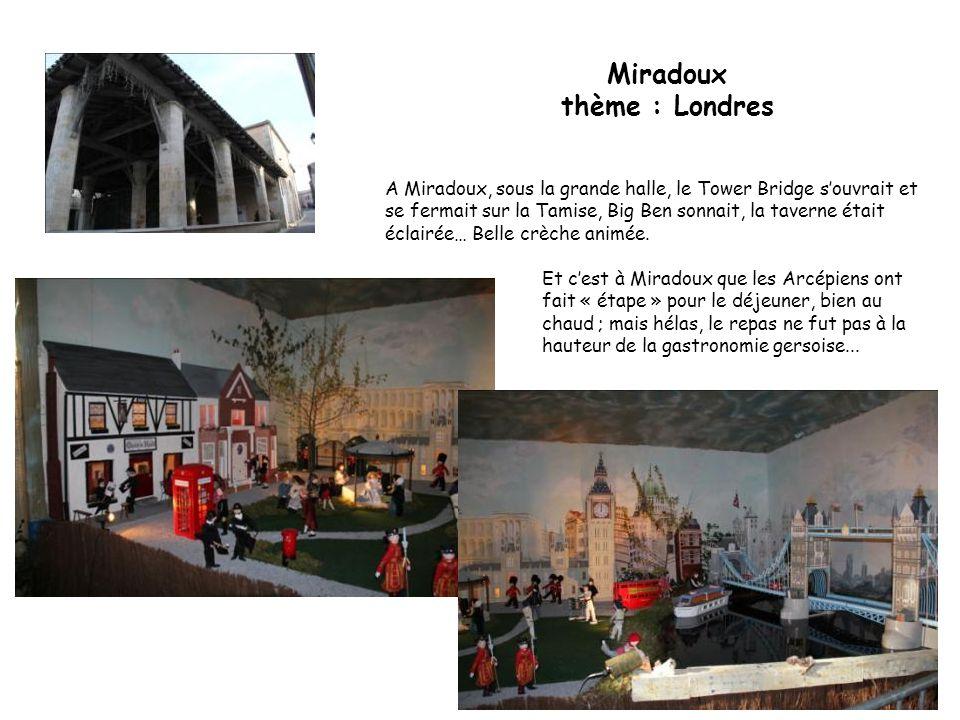 Miradoux thème : Londres