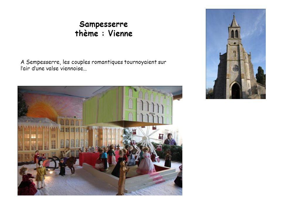 Sampesserre thème : Vienne
