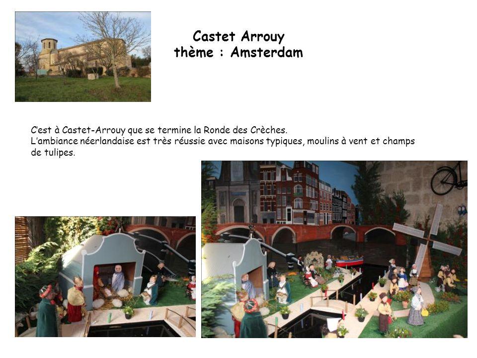Castet Arrouy thème : Amsterdam