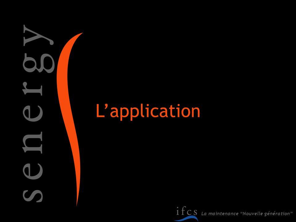 L'application