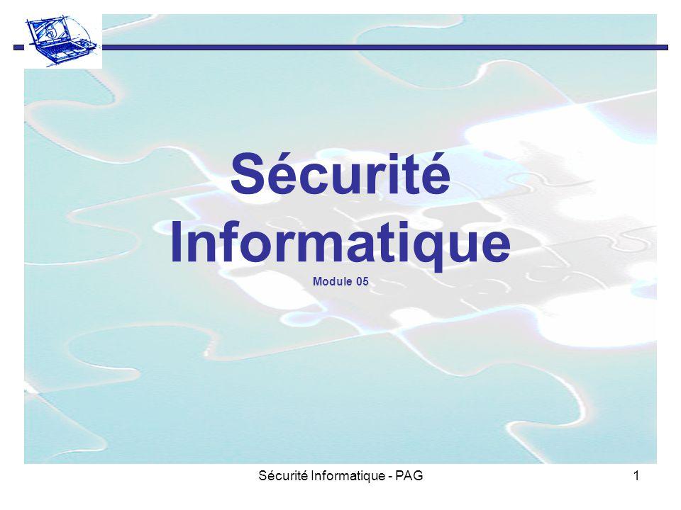 Sécurité Informatique Module 05