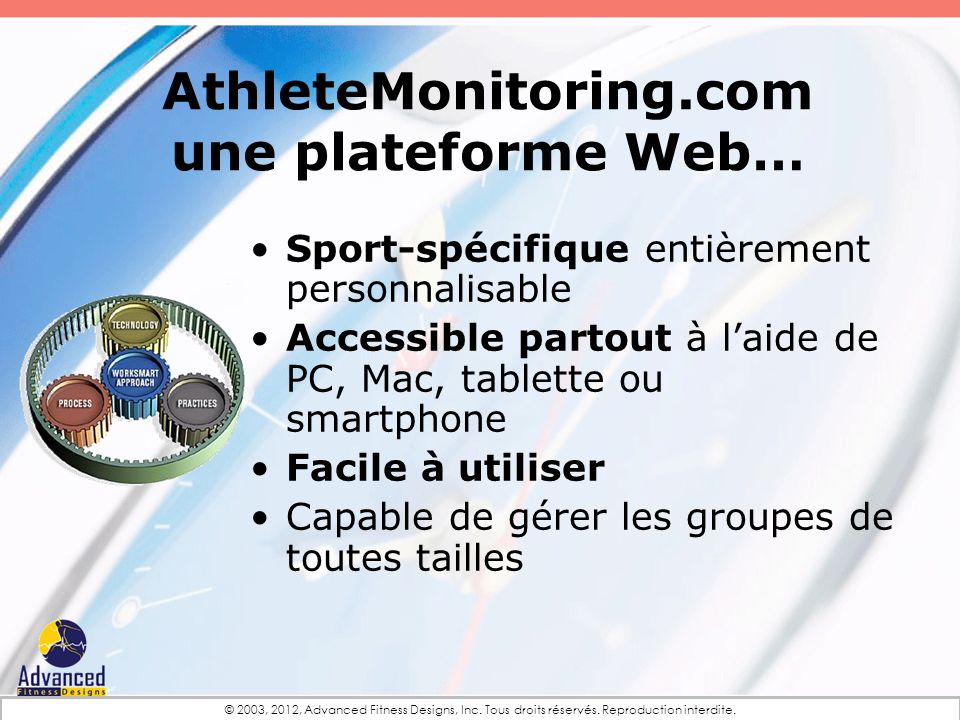 AthleteMonitoring.com une plateforme Web…