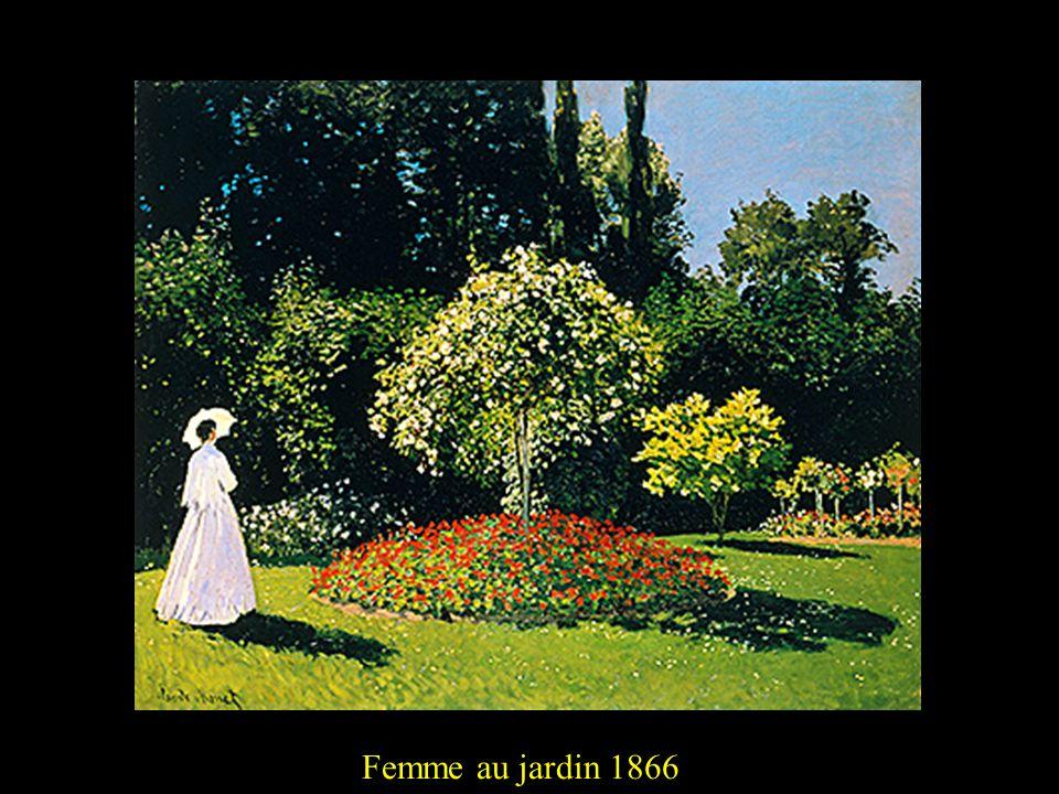Femme au jardin 18662