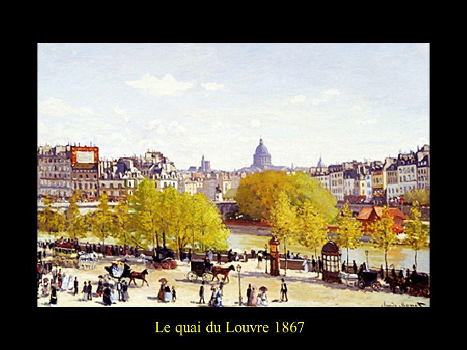 Le quai du Louvre 18672
