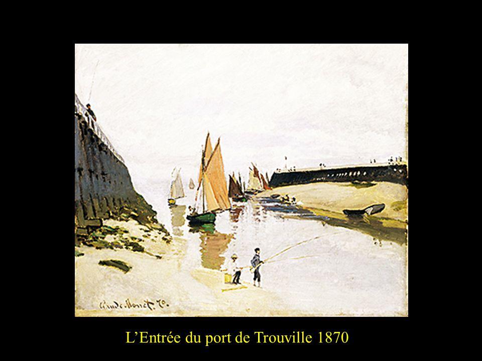 L'Entrée du port de Trouville 18702