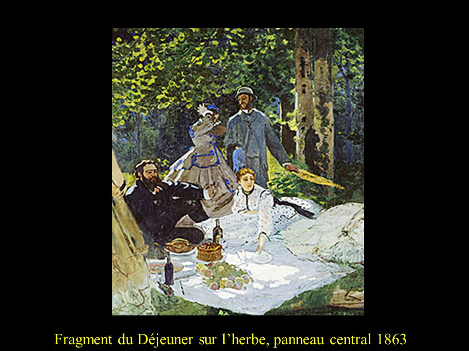 Fragment du Déjeuner sur l'herbe, panneau central 18632