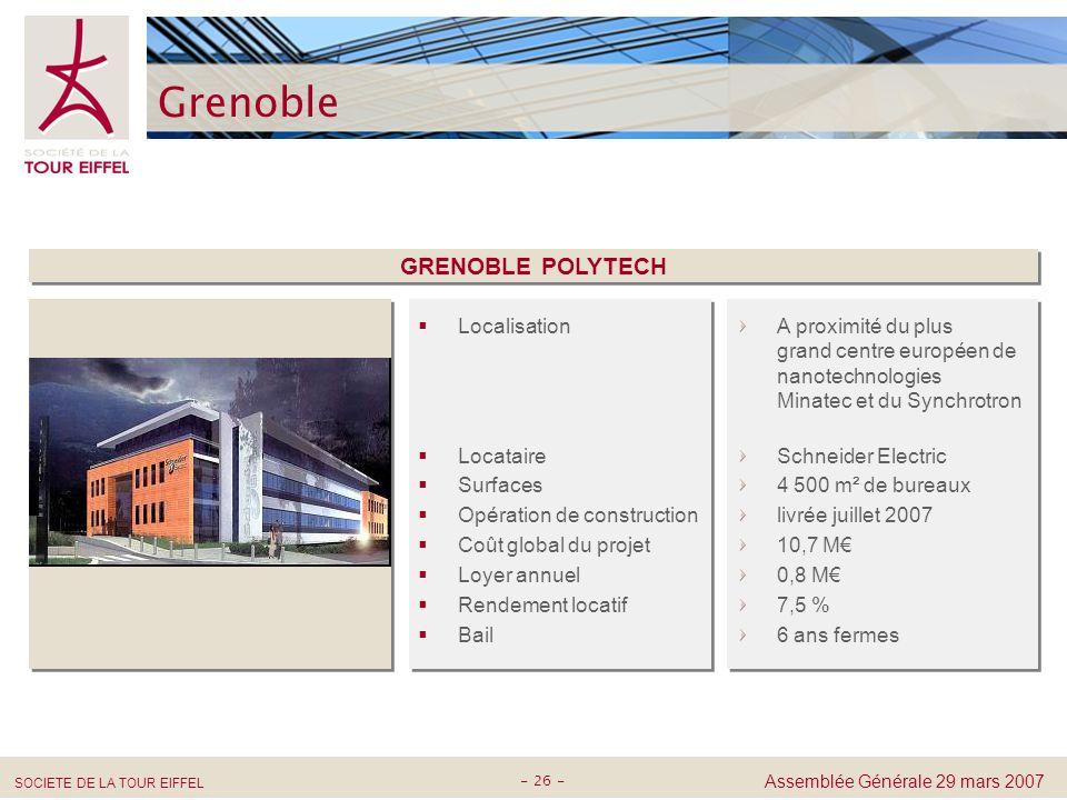 Grenoble GRENOBLE POLYTECH