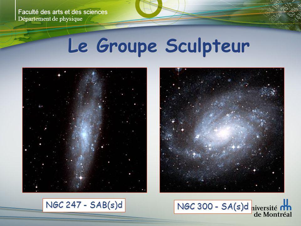 Le Groupe Sculpteur NGC 247 - SAB(s)d NGC 300 - SA(s)d