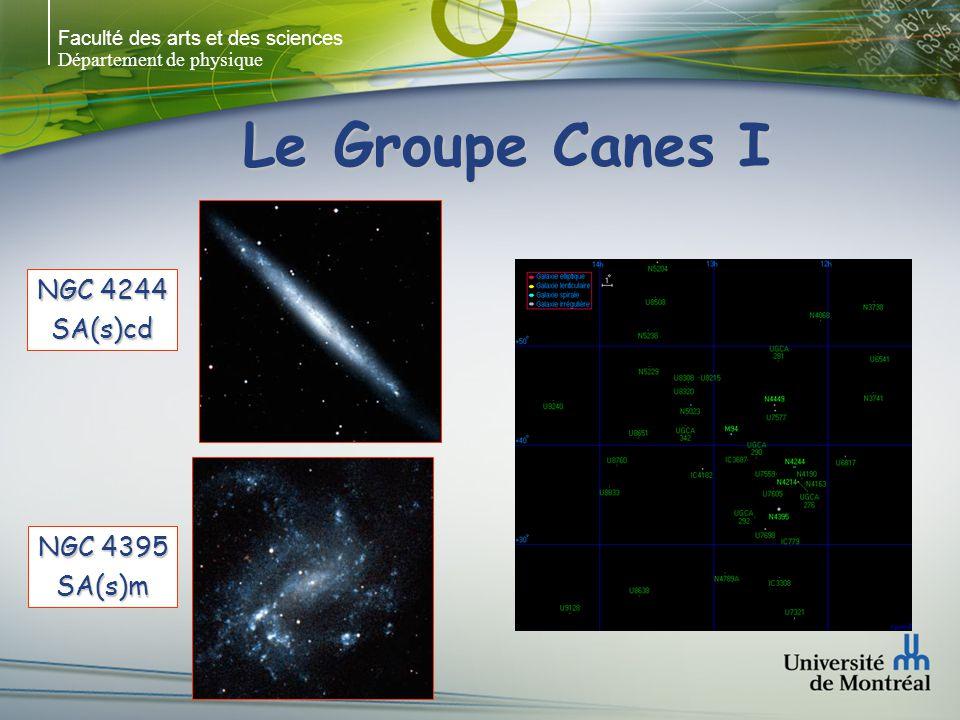 Le Groupe Canes I NGC 4244 SA(s)cd NGC 4395 SA(s)m