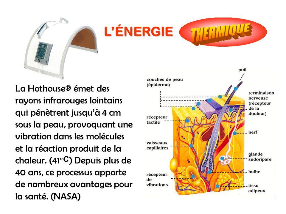 THERMIQUE L'ÉNERGIE.