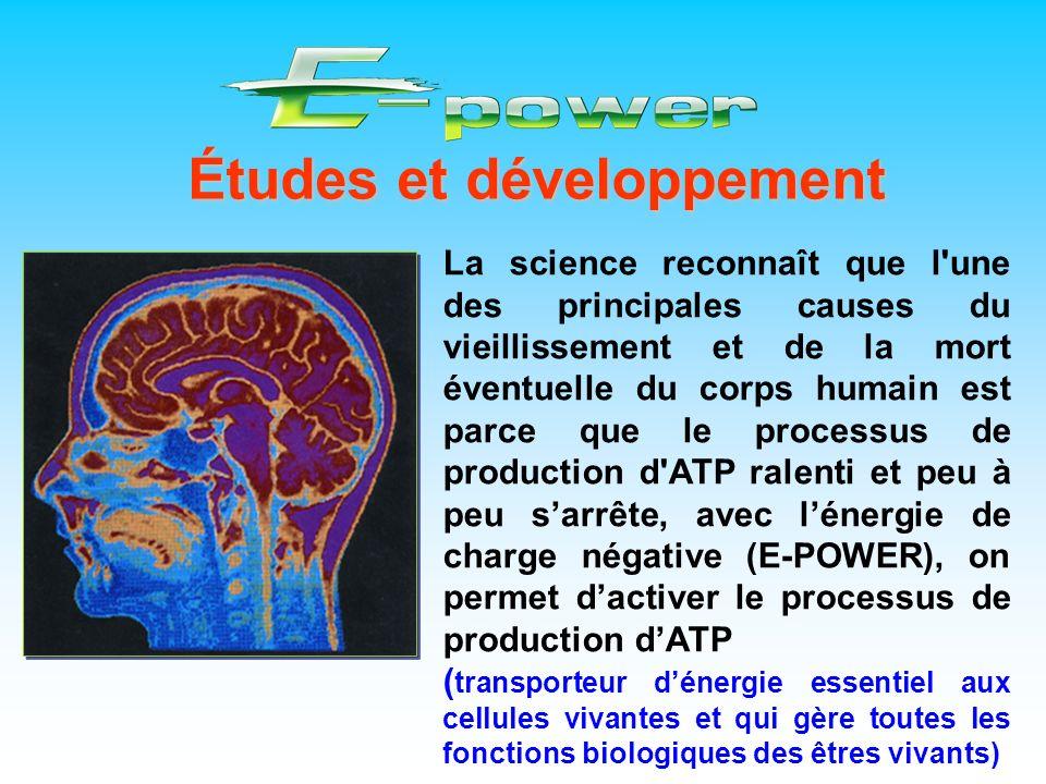 Études et développement