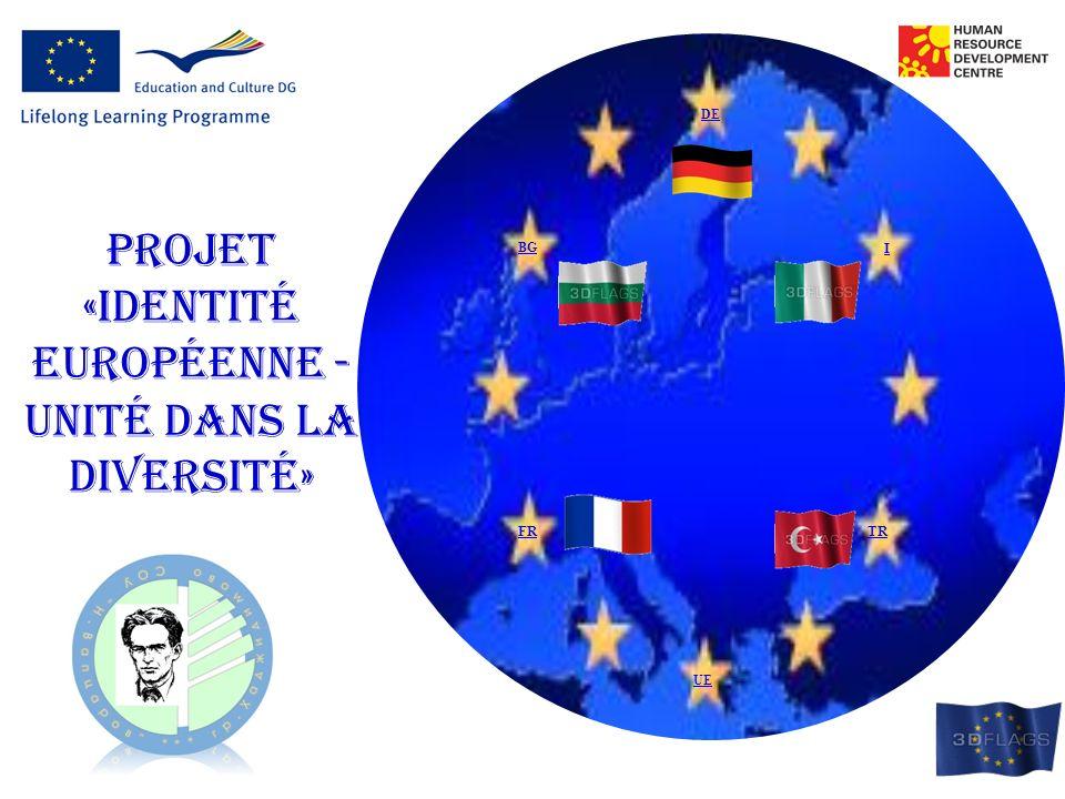 Projet «identité européenne - unité dans la diversité»