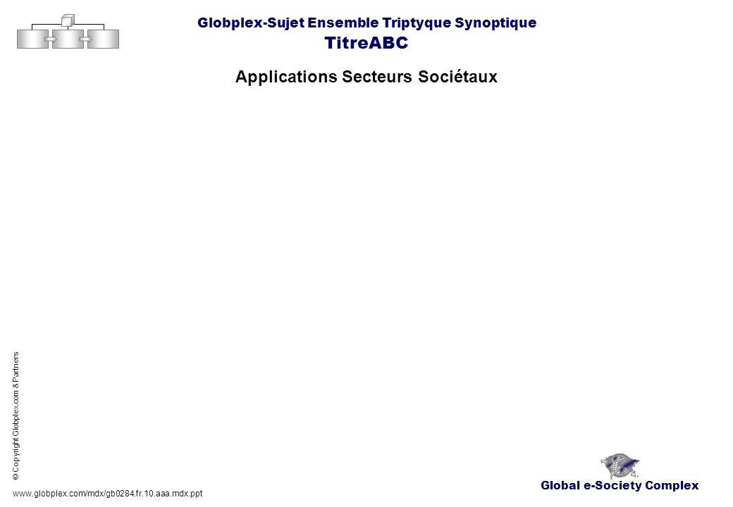Applications Secteurs Sociétaux