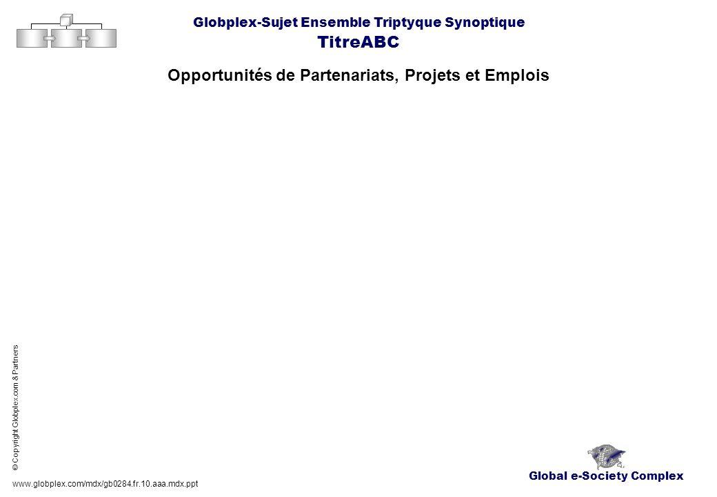 Opportunités de Partenariats, Projets et Emplois