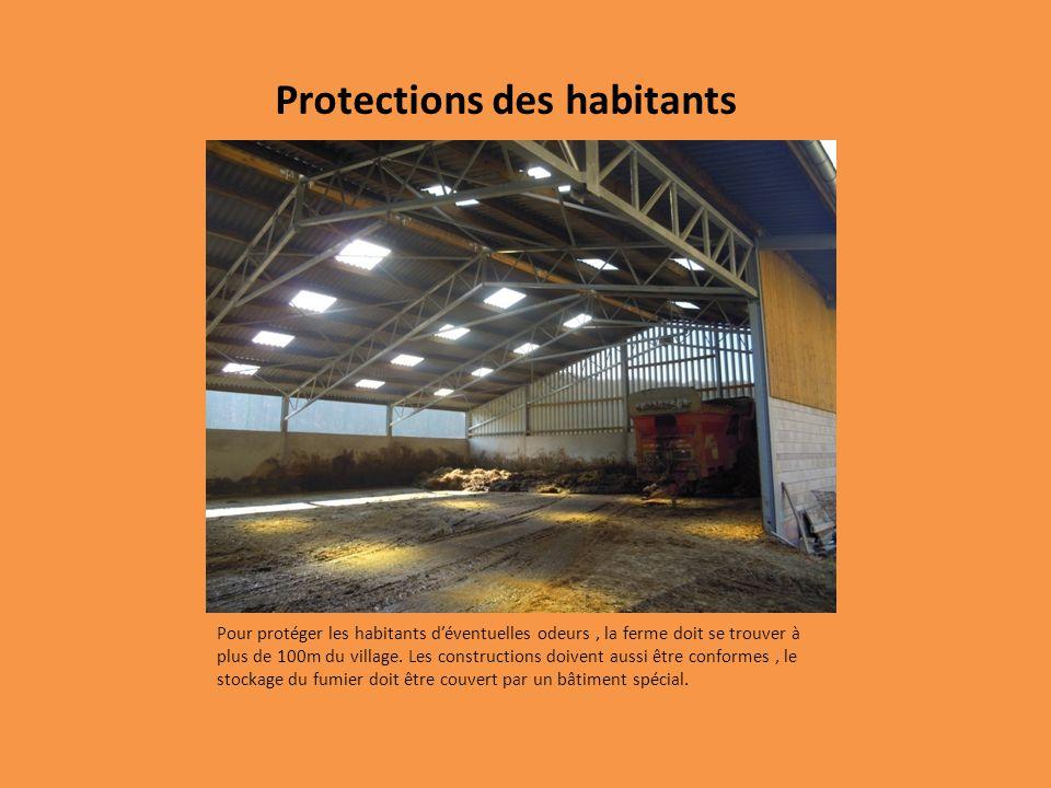 Protections des habitants
