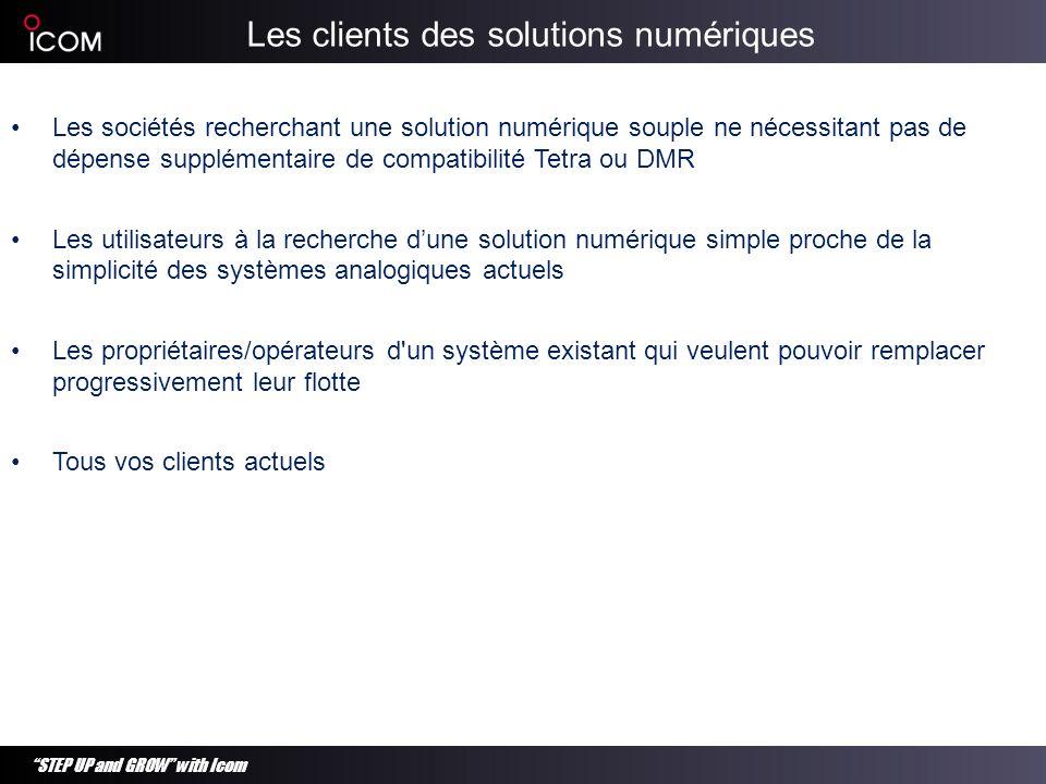 Les clients des solutions numériques