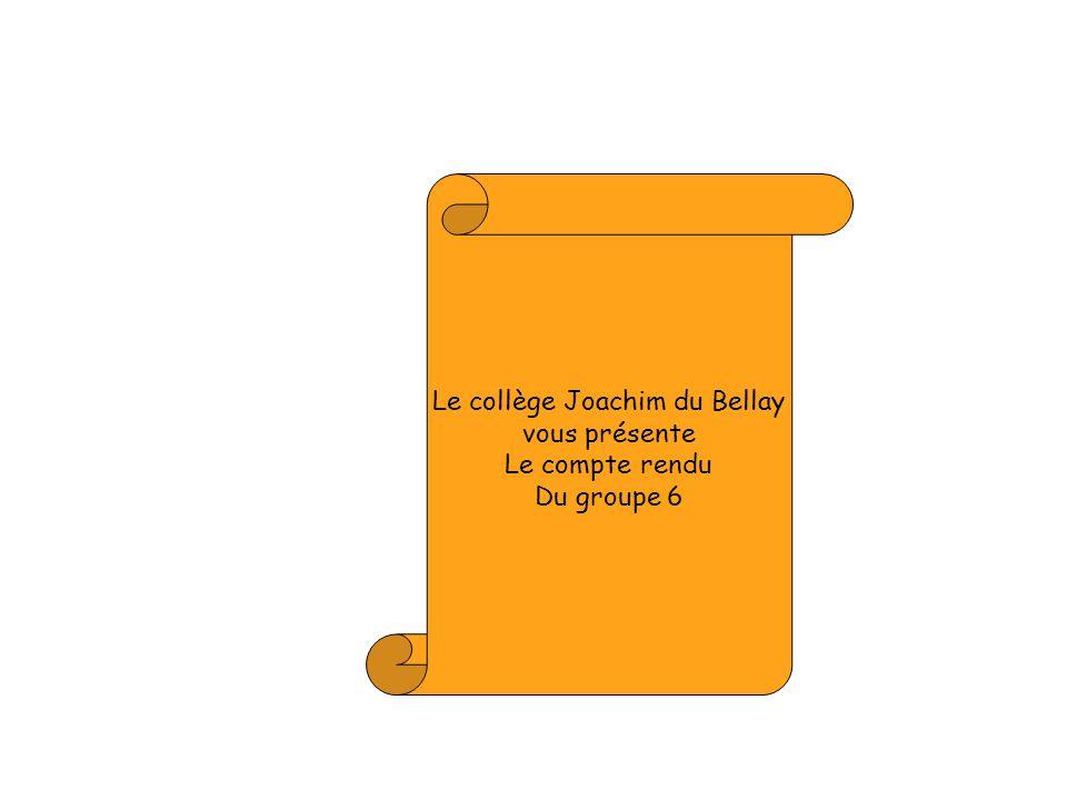 Le collège Joachim du Bellay