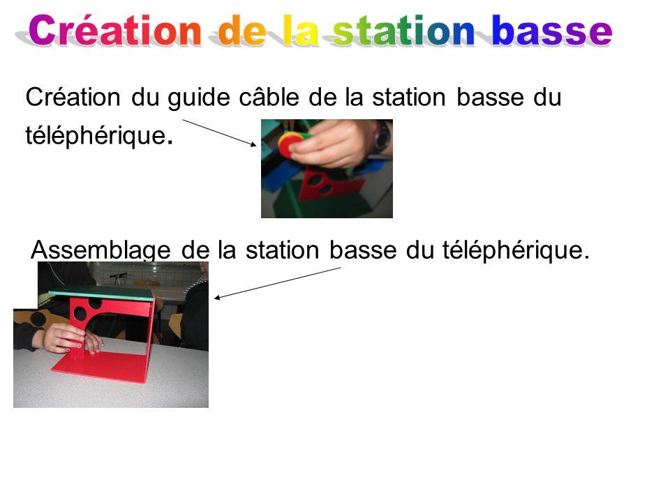Création de la station basse