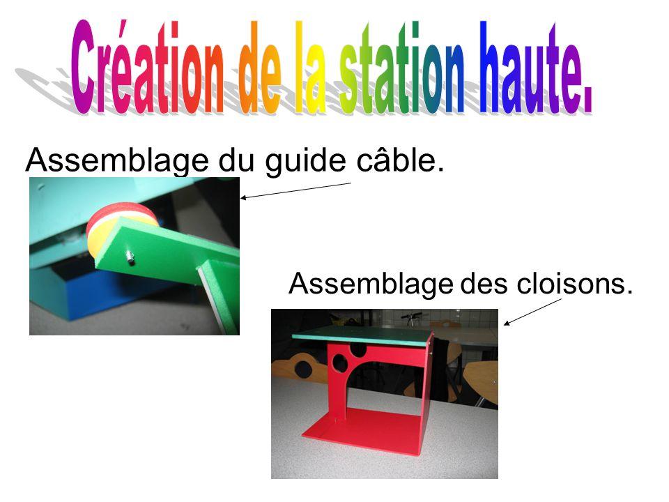 Création de la station haute.