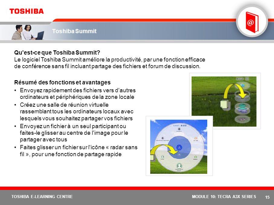 Qu est-ce que Toshiba Summit