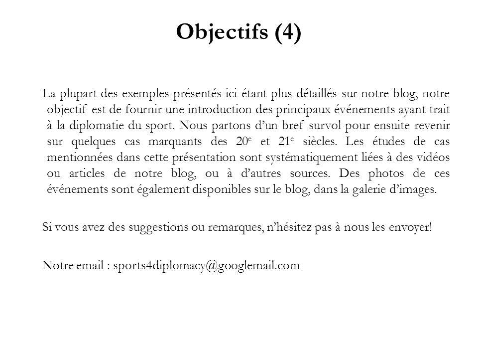 Objectifs (4)